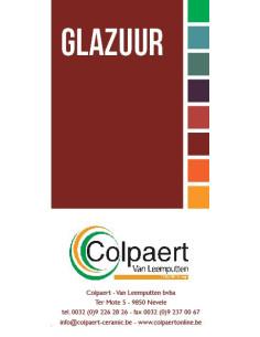 KLEINE VOUWFOLDER GLAZUUR COLPAERT